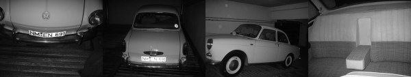 zeer vroege t3 zwart wit fotos