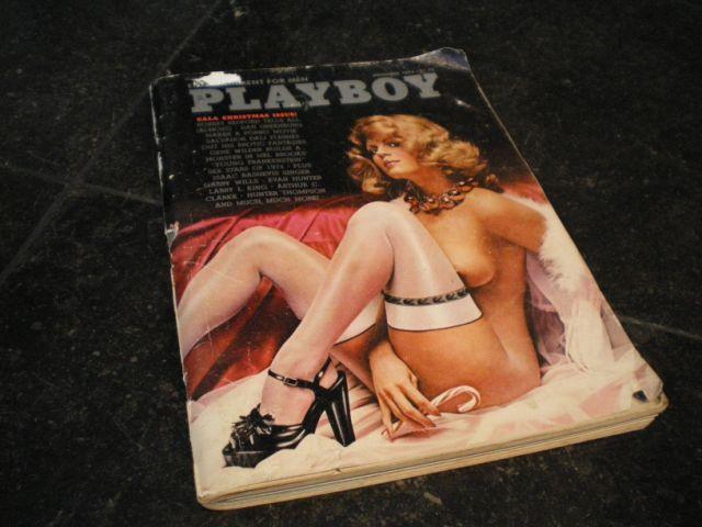 PLAYBOY 1974 PORSCHE COVER